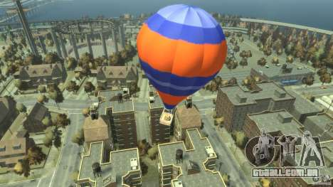 Balloon Tours option 6 para GTA 4 traseira esquerda vista
