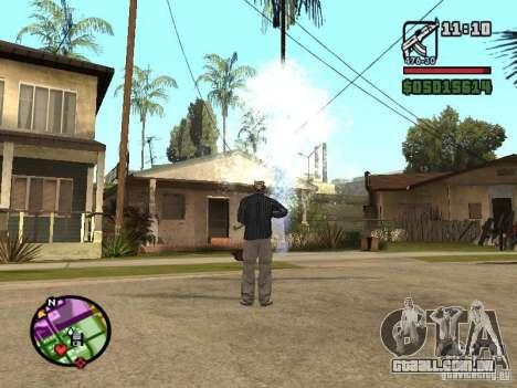 Overdose effects V1.3 para GTA San Andreas segunda tela
