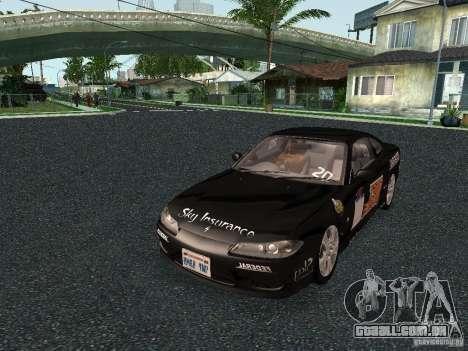 Nissan Silvia S15 Tunable para GTA San Andreas vista direita