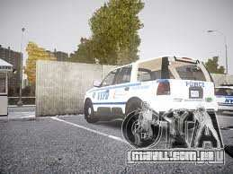 Ford Expedition Truck Enforcement para GTA 4 traseira esquerda vista