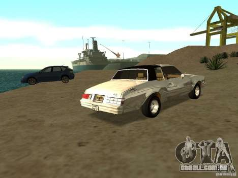 GFX Mod para GTA San Andreas segunda tela