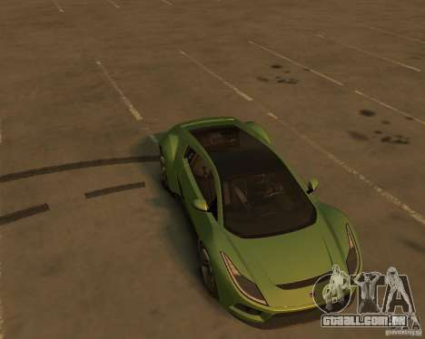 2010 Saleen S5S Raptor para GTA 4 vista de volta