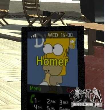 Homer Simpsons Theme para GTA 4
