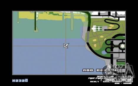 Mountain map para GTA San Andreas sétima tela