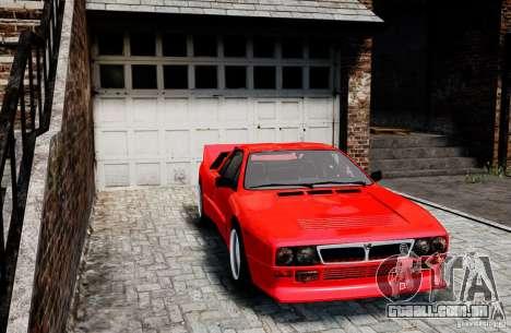 Lancia 037 Stradale para GTA 4 traseira esquerda vista