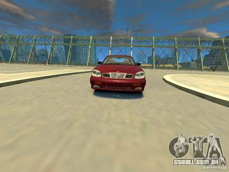 Daewoo Leganza CDX para GTA 4 vista direita
