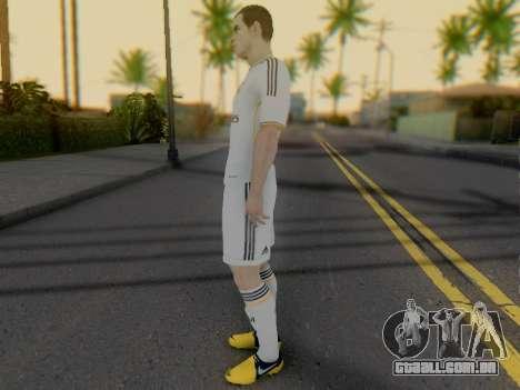 Gareth Bale para GTA San Andreas terceira tela