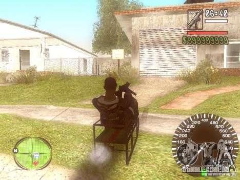 Sani para GTA San Andreas esquerda vista