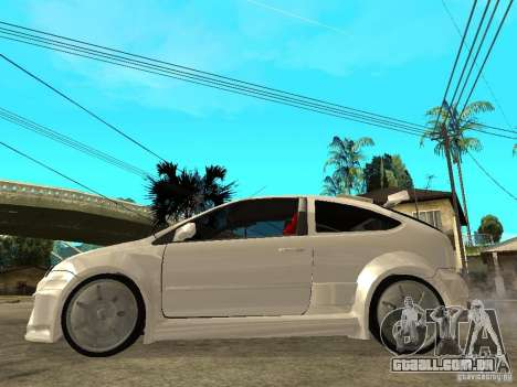 Ford Focus Tuned para GTA San Andreas esquerda vista
