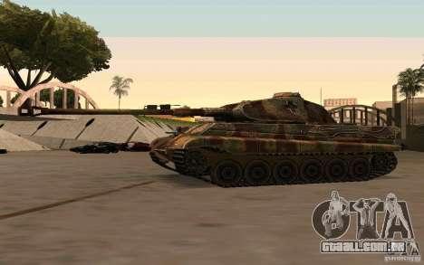 Pzkpfw VII Tiger II para GTA San Andreas