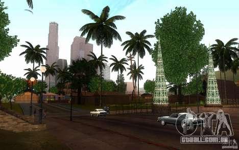 Vegetação perfeita v. 2 para GTA San Andreas sexta tela