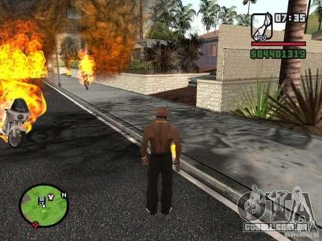 Molotov-cossacos para GTA San Andreas terceira tela