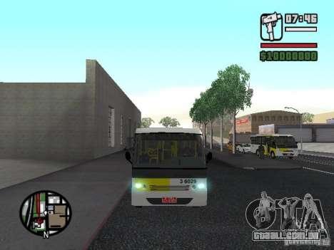 Induscar Caio Piccolo para GTA San Andreas vista interior