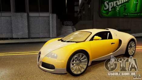Bugatti Veyron 16.4 v1.0 wheel 2 para GTA 4 vista lateral
