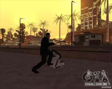 Kick in the balls para GTA San Andreas por diante tela
