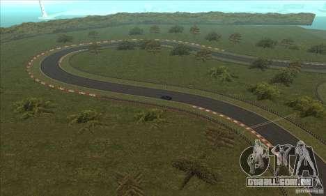 Faixa GOKART rota 2 para GTA San Andreas décima primeira imagem de tela