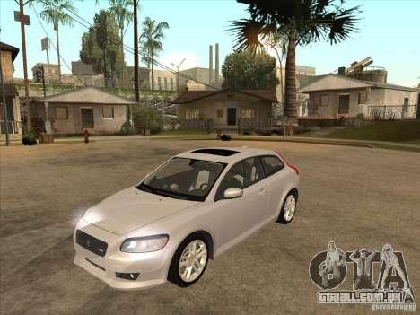 Volvo C30 para GTA San Andreas esquerda vista