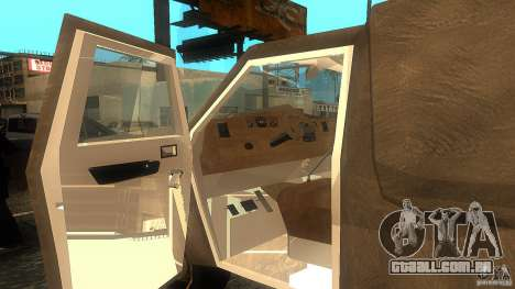 Dumb and Dumber Van para GTA San Andreas traseira esquerda vista