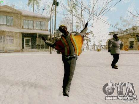 Harlem Shake para GTA San Andreas terceira tela