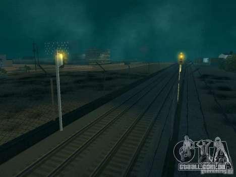 Luzes de tráfego ferroviário para GTA San Andreas terceira tela