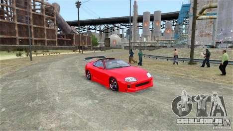 Toyota Supra RZ 1998 v 2.0 para GTA 4