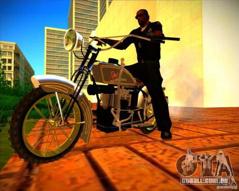1923 ACE 1200cc para GTA San Andreas vista interior
