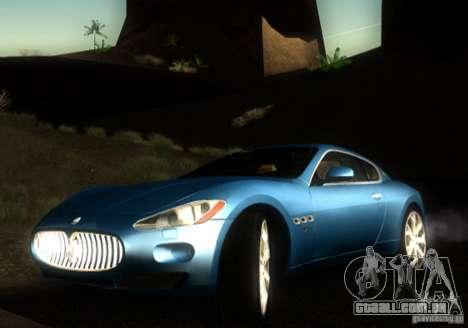 Maserati Gran Turismo para GTA San Andreas