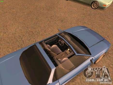 Infernus Revolution para GTA San Andreas esquerda vista