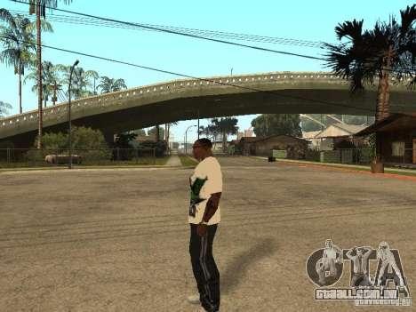 Mike Svoboda para GTA San Andreas por diante tela