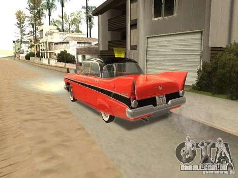 Plymouth Belvedere Sport sedan para GTA San Andreas esquerda vista