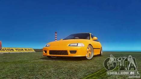 Honda Civic Tuned para GTA 4