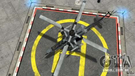 Bell AH-1Z Viper para GTA 4 vista direita