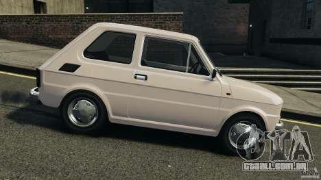 Fiat 126 Classic para GTA 4 esquerda vista