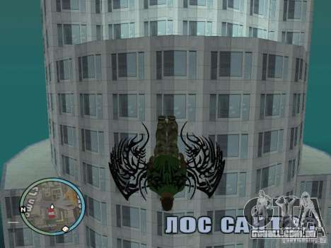 Asas-as asas para GTA San Andreas terceira tela