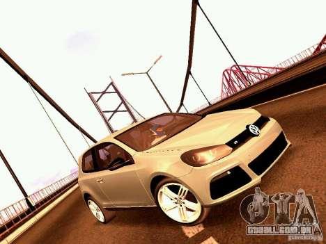 Volkswagen Golf R 2010 para GTA San Andreas