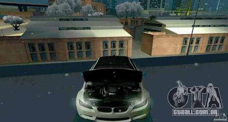 BMW E92 para GTA San Andreas vista traseira