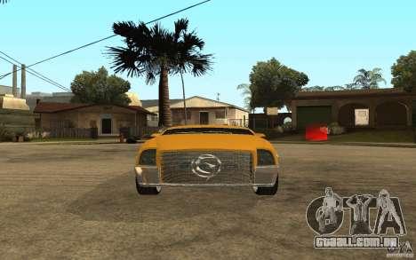 MGC Phantom para GTA San Andreas vista direita