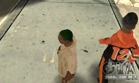 Kornrou verde para GTA San Andreas terceira tela