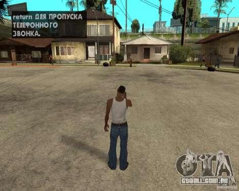 Nokia N97 para GTA San Andreas