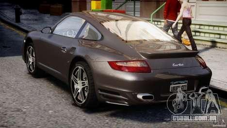 Porsche 911 Turbo para GTA 4 vista direita