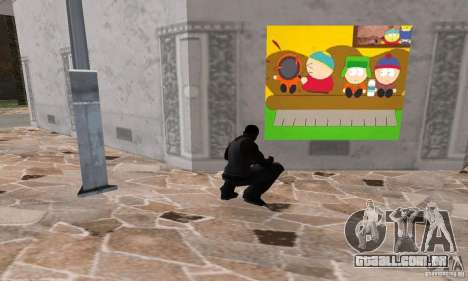 South Park Grafitti Mod para GTA San Andreas quinto tela