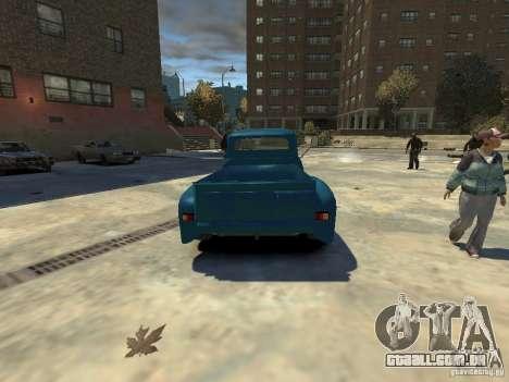 Gaz 52 HotRod para GTA 4 traseira esquerda vista