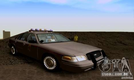 Ford Crown Victoria Mississippi Police para GTA San Andreas