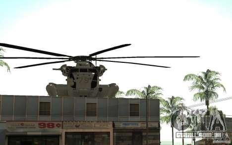 CH 53E para vista lateral GTA San Andreas