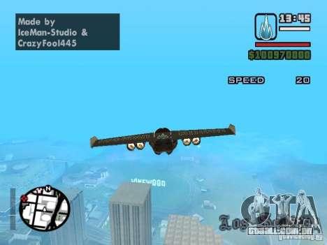 Jetwing Mod para GTA San Andreas terceira tela