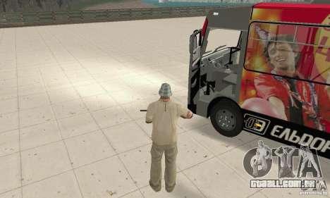 Bogdan A091 para GTA San Andreas vista traseira