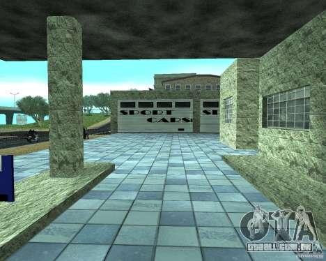 HD garagem em Doherty para GTA San Andreas sétima tela