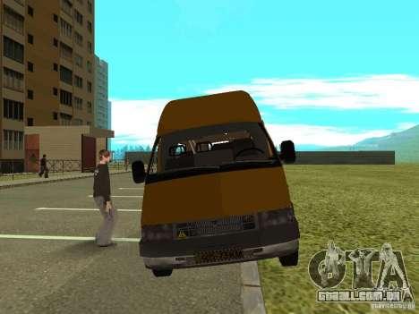 GÁS SPV ruta-16 para GTA San Andreas
