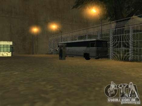 Ônibus Parque v 1.1 para GTA San Andreas por diante tela