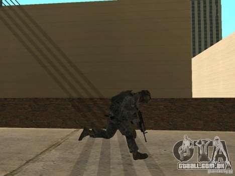 Animations v1.0 para GTA San Andreas segunda tela